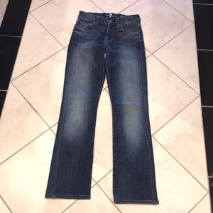 7 For All Mankind Kimmie Straight Leg Jeans 23